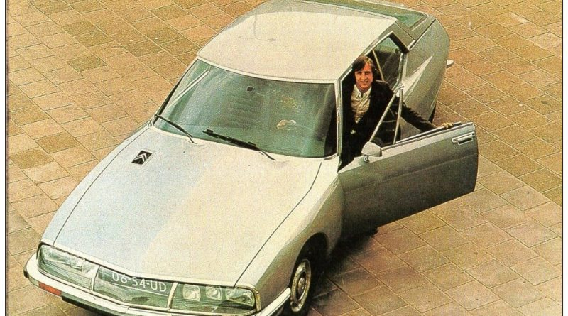 Johan Cruiff Citroen CX