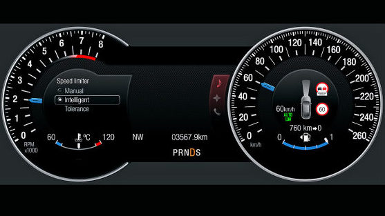 Ford S Max Intelligent Speed Limiter